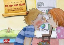 Cover-Bild zu Hauenschild, Lydia: Ich war das nicht! Kamishibai Bildkartenset