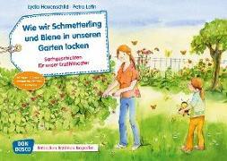 Cover-Bild zu Hauenschild, Lydia: Wie wir Schmetterling und Biene in unseren Garten locken. Kamishibai Bildkartenset