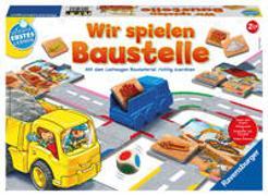 Cover-Bild zu Ravensburger 24726 - Wir spielen Baustelle - Bau-und Zuordnungsspiel für die Kleinen - Spiel für Kinder ab 2 Jahren, Spielend erstes Lernen für 1-2 Spieler von Teubner, Marco