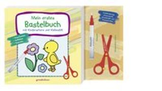 Cover-Bild zu Mein erstes Bastelbuch mit Kinderschere und Klebestift (Küken) von gondolino Malen und Basteln (Hrsg.)