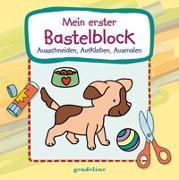 Cover-Bild zu Mein erster Bastelblock (Hundewelpe) von gondolino Malen und Basteln (Hrsg.)