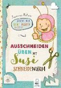 Cover-Bild zu Ausschneiden üben mit Susi Schneidewurm - Schneiden, malen, kleben & basteln: Mein Scherenführerschein von Bohne, Susanne