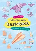 Cover-Bild zu Mein erster großer Bastelblock - Ausschneiden, Ausmalen, Falten von Pautner, Norbert