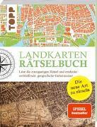 Cover-Bild zu Landkarten Rätselbuch - die Rätselinnovation. SPIEGEL Bestseller von Pautner, Norbert