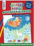 Cover-Bild zu Zauberpapier Adventskalender - Sven und der Weihnachtsschlitten von Pautner, Norbert