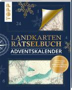 Cover-Bild zu Landkarten Rätselbuch Adventskalender von Pautner, Norbert