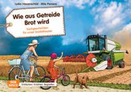 Cover-Bild zu Wie aus Getreide Brot wird. Kamishibai Bildkartenset von Hauenschild, Lydia