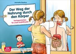 Cover-Bild zu Der Weg der Nahrung durch den Körper. Kamishibai Bildkartenset von Boetius, Jeanette
