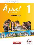 Cover-Bild zu À plus !, Nouvelle édition - Bayern, Band 1, Schülerbuch - Lehrerfassung von Blume, Otto-Michael