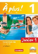 Cover-Bild zu À plus !, Nouvelle édition - Junior, Band 1: 1. Lernjahr, Junior 1, Carnet d'activités mit CD-Extra und DVD-ROM - Lehrerfassung, Mit eingelegtem Förderheft von Gregor, Gertraud
