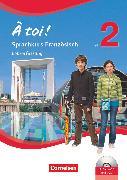 Cover-Bild zu À toi !, Sprachkurs Französisch, Teil 2, Arbeitsheft - Lehrerfassung mit Audio-CDs und Video-DVD von Gregor, Gertraud