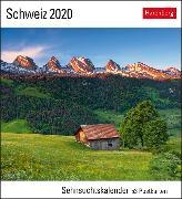 Cover-Bild zu Schweiz Kalender 2020 von Gerth, Andreas
