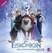 Cover-Bild zu Die Eiskönigin Broschurkalender Kalender 2020