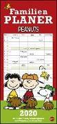 Cover-Bild zu Peanuts Familienplaner Kalender 2020