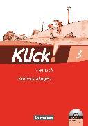 Cover-Bild zu Klick! Erstlesen, Westliche und östliche Bundesländer, Teil 3, Kopiervorlagen mit CD-ROM von Born, Iris