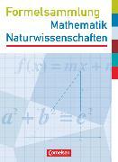 Cover-Bild zu Formelsammlungen Sekundarstufe I, Westliche Bundesländer (außer Bayern), Mathematik - Naturwissenschaften, Formelsammlung, Mit Prüfungseinleger von Köcher, Dirk