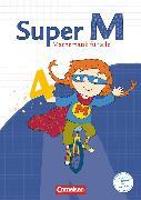 Cover-Bild zu Super M, Mathematik für alle, Ausgabe Westliche Bundesländer (außer Bayern) - 2008, 4. Schuljahr, Schülerbuch mit Kartonbeilagen von Dietz, Heidi