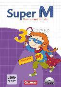 Cover-Bild zu Super M, Mathematik für alle, Ausgabe Westliche Bundesländer (außer Bayern) - 2008, 3. Schuljahr, Arbeitsheft mit CD-ROM von Braun, Ulrike