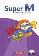 Cover-Bild zu Super M, Mathematik für alle, Ausgabe Westliche Bundesländer (außer Bayern) - 2008, 1. Schuljahr, Arbeitsheft mit CD-ROM von Braun, Ulrike