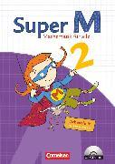 Cover-Bild zu Super M, Mathematik für alle, Ausgabe Westliche Bundesländer (außer Bayern) - 2008, 2. Schuljahr, Arbeitsheft mit CD-ROM von Deichmeier, Julia