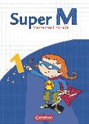Cover-Bild zu Super M, Mathematik für alle, Ausgabe Westliche Bundesländer (außer Bayern) - 2008, 1. Schuljahr, Schülerbuch mit Kartonbeilagen von Braun, Ulrike