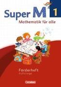 Cover-Bild zu Super M, Mathematik für alle, Westliche Bundesländer - Neubearbeitung, 1. Schuljahr, Forderheft, Aufstiege von Braun, Ulrike