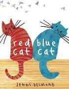Cover-Bild zu Desmond, Jenni: Red Cat, Blue Cat