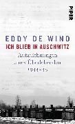 Cover-Bild zu Ich blieb in Auschwitz von de Wind, Eddy