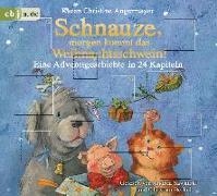 Cover-Bild zu Schnauze, morgen kommt das Weihnachtsschwein! von Angermayer, Karen Christine