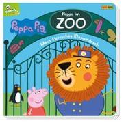 Cover-Bild zu Peppa Pig: Peppa im Zoo - Mein tierisches Klappenbuch von Rauch, Eva-Regine (Mitglied Hrsg-Gremium)