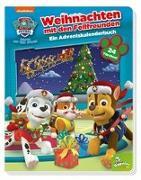 Cover-Bild zu PAW Patrol: Weihnachten mit den Fellfreunden - Ein Adventskalenderbuch von Fruchter, Jason