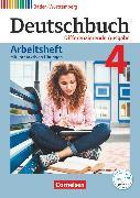Cover-Bild zu Deutschbuch, Sprach- und Lesebuch, Differenzierende Ausgabe Baden-Württemberg 2016, Band 4: 8. Schuljahr, Arbeitsheft mit interaktiven Übungen auf scook.de, Mit Lösungen von Fogt, Dorothea