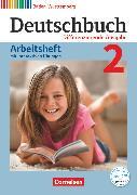 Cover-Bild zu Deutschbuch, Sprach- und Lesebuch, Differenzierende Ausgabe Baden-Württemberg 2016, Band 2: 6. Schuljahr, Arbeitsheft mit interaktiven Übungen auf scook.de, Mit Lösungen von Fogt, Dorothea