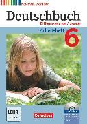 Cover-Bild zu Deutschbuch, Sprach- und Lesebuch, Differenzierende Ausgabe Nordrhein-Westfalen 2011, 6. Schuljahr, Arbeitsheft mit Lösungen und Übungs-CD-ROM von Dick, Friedrich