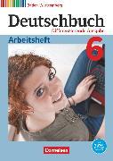 Cover-Bild zu Deutschbuch, Sprach- und Lesebuch, Differenzierende Ausgabe Baden-Württemberg 2016, Band 6: 10. Schuljahr, Arbeitsheft mit Lösungen von Bublinski, Carolin
