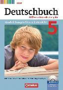 Cover-Bild zu Deutschbuch, Sprach- und Lesebuch, Differenzierende Ausgabe Hessen 2011, 5. Schuljahr, Handreichungen für den Unterricht, Kopiervorlagen und CD-ROM von Bohlinger, Janine