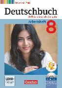 Cover-Bild zu Deutschbuch, Sprach- und Lesebuch, Differenzierende Ausgabe Rheinland-Pfalz 2011, 8. Schuljahr, Arbeitsheft mit Lösungen und Übungs-CD-ROM von Dick, Friedrich