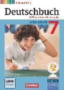 Cover-Bild zu Deutschbuch, Sprach- und Lesebuch, Differenzierende Ausgabe Rheinland-Pfalz 2011, 7. Schuljahr, Arbeitsheft mit Lösungen und Übungs-CD-ROM von Dick, Friedrich