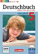 Cover-Bild zu Deutschbuch, Sprach- und Lesebuch, Differenzierende Ausgabe Rheinland-Pfalz 2011, 5. Schuljahr, Arbeitsheft mit Lösungen und Übungs-CD-ROM von Dick, Friedrich