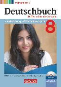 Cover-Bild zu Deutschbuch, Sprach- und Lesebuch, Differenzierende Ausgabe Rheinland-Pfalz 2011, 8. Schuljahr, Handreichungen für den Unterricht, Kopiervorlagen und CD-ROM von Biegler, Alexandra