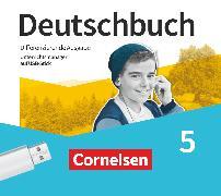 Cover-Bild zu Deutschbuch, Sprach- und Lesebuch, Differenzierende Ausgabe 2020, 5. Schuljahr, Unterrichtsmanager Plus auf USB-Stick, Inkl. E-Book als Zugabe und Begleitmaterialien
