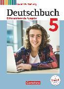 Cover-Bild zu Deutschbuch, Sprach- und Lesebuch, Differenzierende Ausgabe Baden-Württemberg 2016, Band 5: 9. Schuljahr, Schülerbuch von Bublinski, Carolin