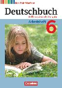 Cover-Bild zu Deutschbuch, Sprach- und Lesebuch, Differenzierende Ausgabe Nordrhein-Westfalen 2011, 6. Schuljahr, Arbeitsheft mit Lösungen von Dick, Friedrich