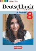 Cover-Bild zu Deutschbuch, Sprach- und Lesebuch, Differenzierende Ausgabe Rheinland-Pfalz 2011, 8. Schuljahr, Arbeitsheft mit Lösungen von Dick, Friedrich