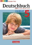 Cover-Bild zu Deutschbuch, Sprach- und Lesebuch, Differenzierende Ausgabe Rheinland-Pfalz 2011, 5. Schuljahr, Arbeitsheft mit Lösungen von Dick, Friedrich