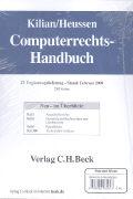 Cover-Bild zu Computerrechts-Handbuch von Kilian, Wolfgang