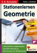 Cover-Bild zu Stationenlernen Geometrie / Klasse 5-6 von Schmidt, Hans. -J.