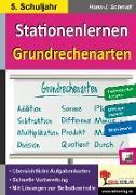 Cover-Bild zu Kohls Stationenlernen Grundrechenarten / 5. Schuljahr von Schmidt, Hans-J.
