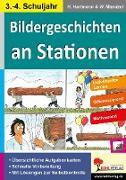 Cover-Bild zu Bildergeschichten an Stationen von Hartmann, Horst
