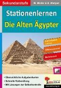 Cover-Bild zu Stationenlernen Die alten Ägypter